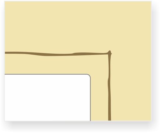 ornament nr 1031 kolor złoty na żółtym tle