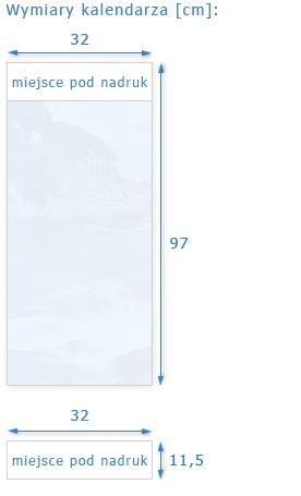 kalendarze paskowy wymiary, kalendarz paskowy wymiar, kalendarze paskowe 2012, kalendarze paskowe 2013