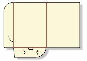 Teczka firmowa format A4 nr katalogowy TF-01