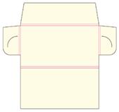 Teczka firmowa format DL nr katalogowy TF-03