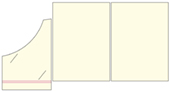Teczki firmowe format A5 nr katalogowy TF-02